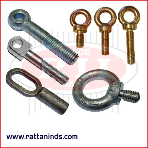 eye bolts forged eye bolt manufacturers exporters in India Punjab Ludhiana