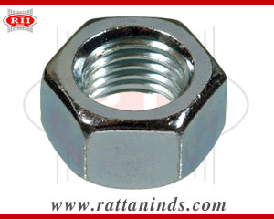 hex nut chrome finish manufacturers exporters india