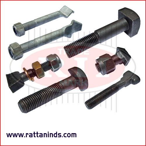 railway fasteners manufacturers exporters in India Punjab Ludhiana