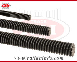 threaded rods thread bars studs manufacturers exporters in india