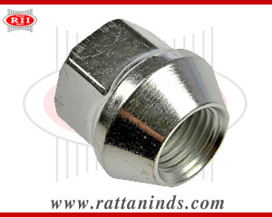 Shallow Open Ended Wheel Nuts manufacturers in india forged tbolt exporters india punjab ludhiana