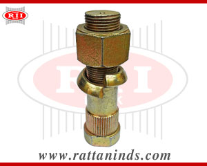 Wheel Hub Bolt with Hex Nut manufacturers in india forged tbolt exporters in Europe